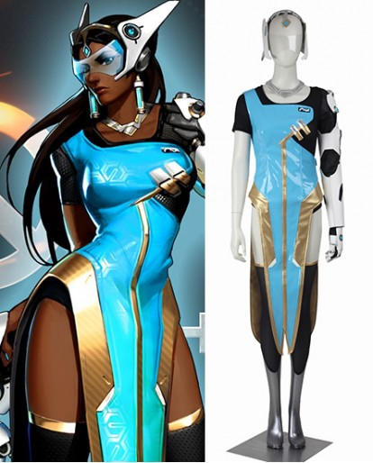 Symmetra Overwatch Cosplay Costume