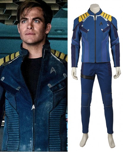 Star Trek Beyond Captain Kirk Cosplay Costume