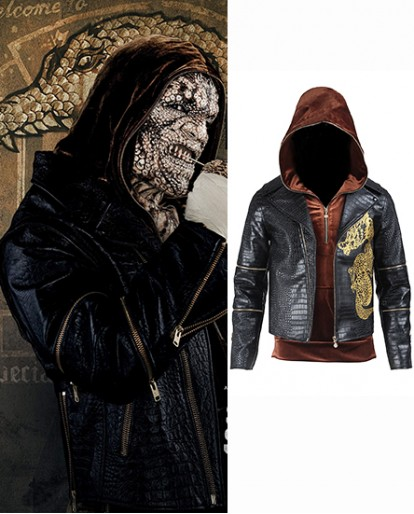 Waylon Jones Killer Croc Suicide Squad Cosplay Costume