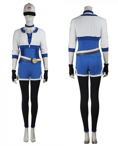 Pokémon GO Blue Women's Cosplay Costume