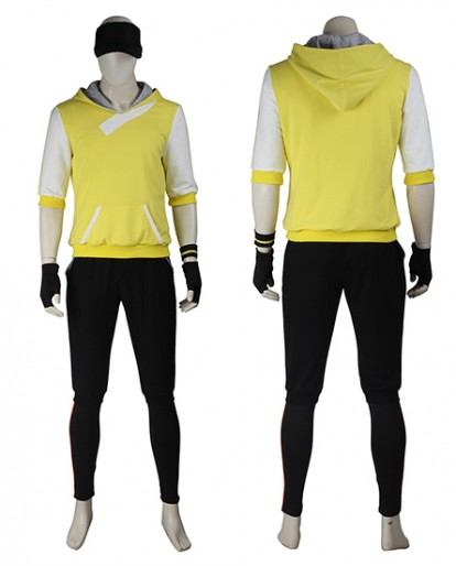 Pokémon GO Yellow Cosplay Costume for Men
