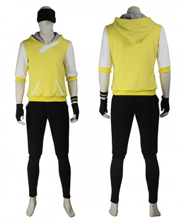 Yellow Men's Pokémon GO Costume
