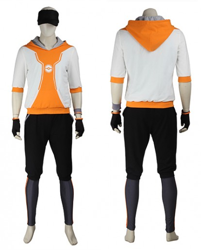 Pokémon GO Orange Cosplay Costume for Men