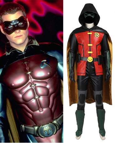 Robin Batmen Justice League vs. Teen Titans Costume