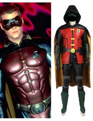 Batmen Justice League vs Teen Titans Robin Cosplay Costume