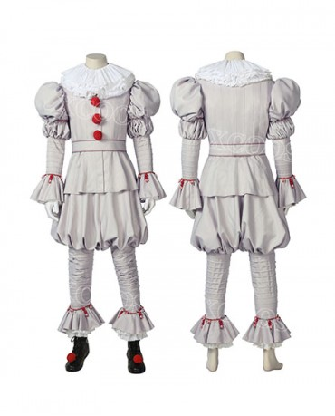 IT Chapter Two Pennywise The Dancing Clown Cosplay Costume