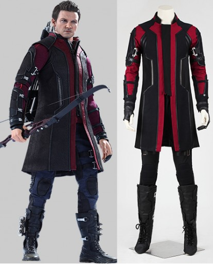 Hawkeye Avengers Age of Ultron Clint Barton Cosplay Costume