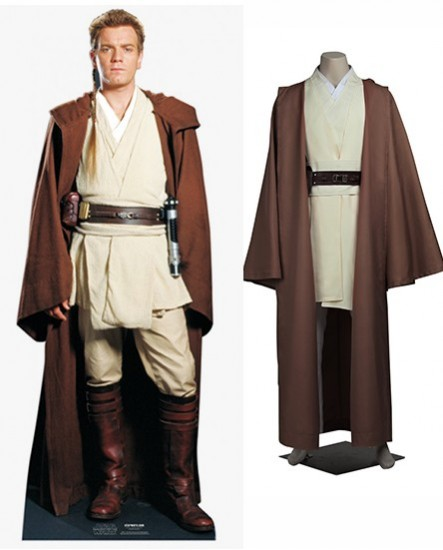 Obi Wan Kenobi Star Wars Cosplay Costume