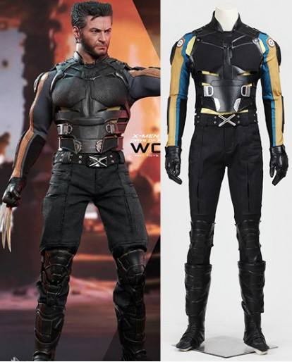 Wolverine Battle Dress Cosplay Costume