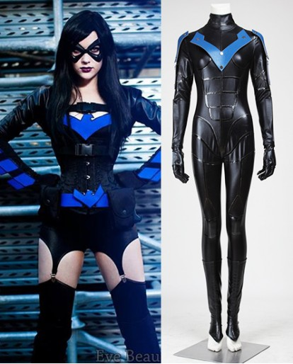 Cheyenne Freemont Nightwing Cosplay Costume