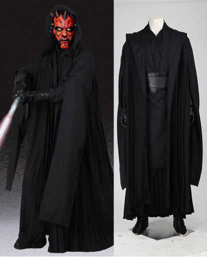 Darth Maul Jedi Knight Star Wars Episode Cosplay Costume