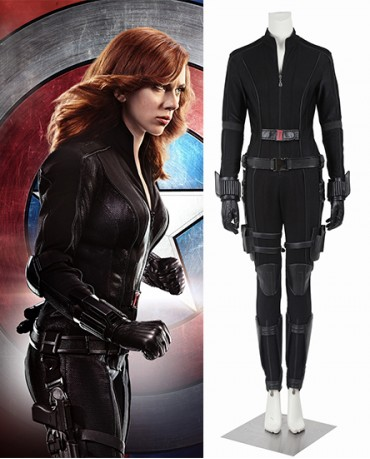 Black Widow Captain America Civil War Cosplay Costume
