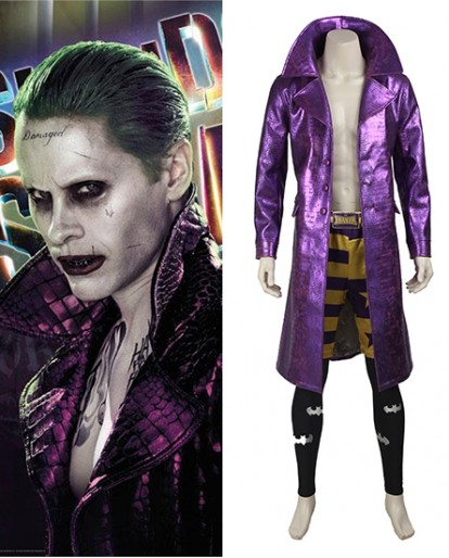 The Joker Suicide Squad/Task Force X Cosplay Costume