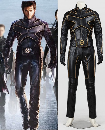 X-Men Wolverine Logan Cosplay Costume