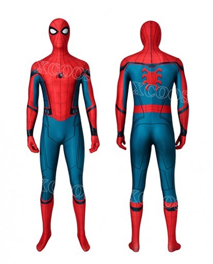 Captain America Civil War Spider-Man Homecoming/Far From Home Cosplay Costume