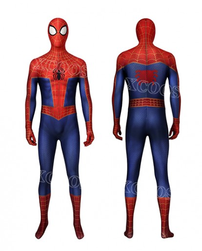 Spider-Man Into the Spider-Verse Peter Parker Cosplay Costume