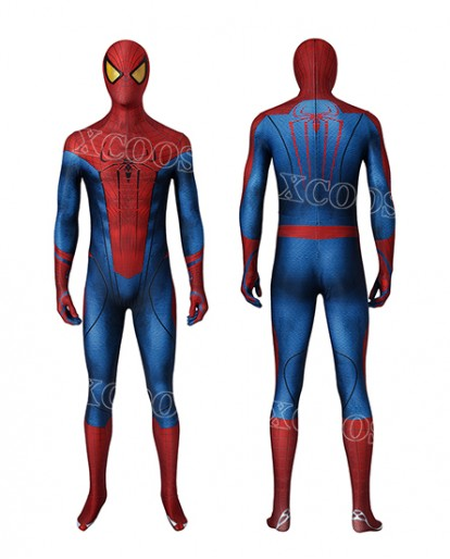 The Amazing Spider-Man Spiderman Peter Parker Cosplay Costume