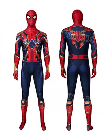 Spider-Man: Far From Home Iron Spider Cosplay Costume