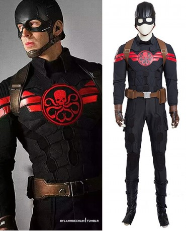 Hydra Captain America Cosplay Costume