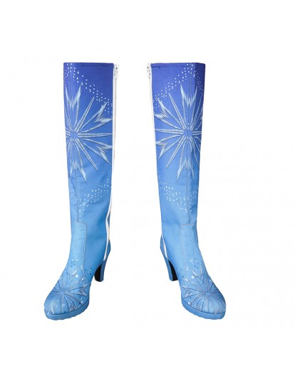 Frozen 2 Elsa Woman Cosplay Boots Shoes