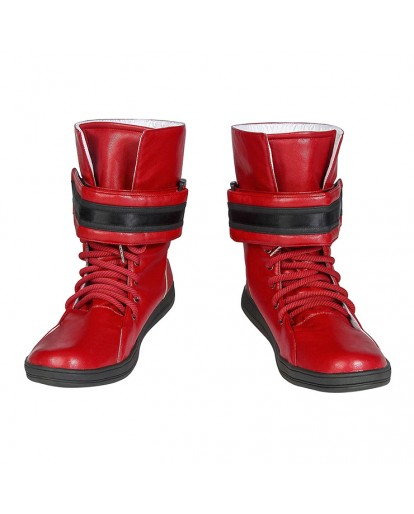 Final Fantasy 7 Tifa Lockhart Woman Cosplay Boots Shoes