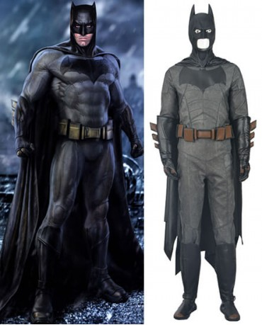 Batman vs Superman Bruce Wayne Cosplay Costume