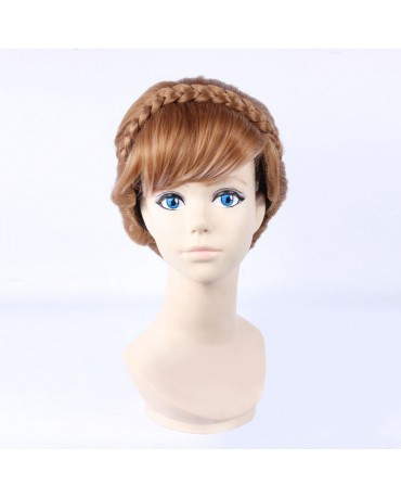 Disney Frozen 2 Anna Woman Cosplay Wig Updo