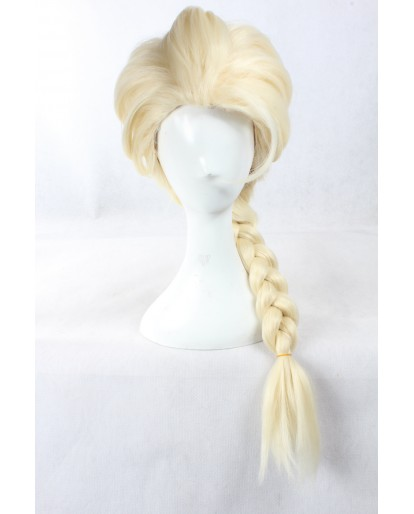 Disney Frozen 2 Elsa Woman Cosplay Wig Braid