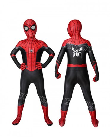 Marvel Spider-Man Far From Home Peter Parker Kids Cosplay Costume Jumpsuit