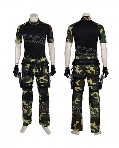Movie G.I.Joe: Retaliation Roadblock Cosplay Costume