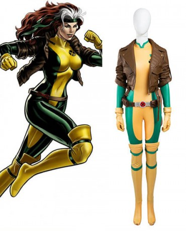 X Men Rogue Cosplay Costume