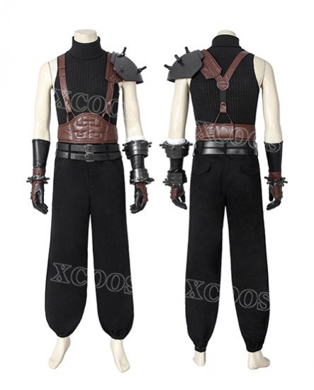 Game Final Fantasy Vii Ff7 Cloud Strife Cosplay Costume