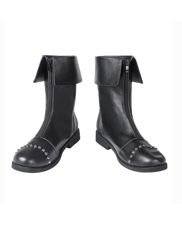 Game Final Fantasy VII FF7 Cloud Strife Cosplay Boots Shoes