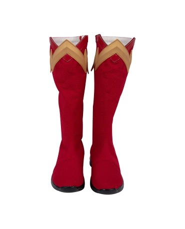 The Flash Barry Allen Man Cosplay Shoes Boots