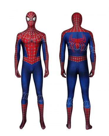 Spider-Man Peter Parker Tobey Maguire Cosplay Costume