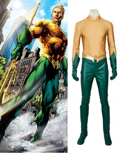 Aquaman Arthur Curry Cosplay Costume