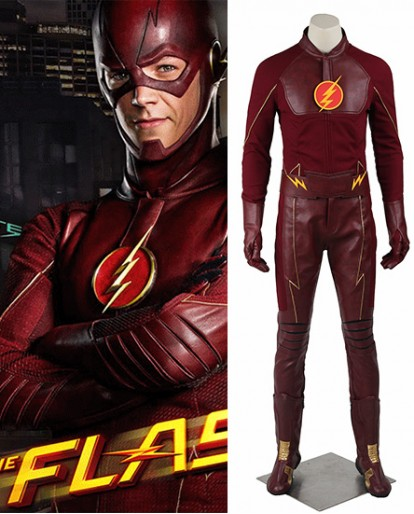 The Flash Barry Allen Season 1 Cosplay Costume