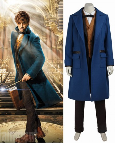 Newt Scamander Fantastic Beasts and Where to Find Them Costume
