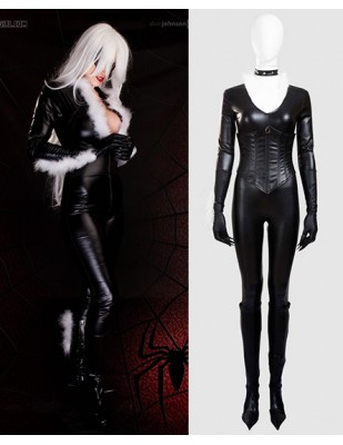 Black Cat Felicia Hardy The Amazing Spider - Man Cosplay Costume