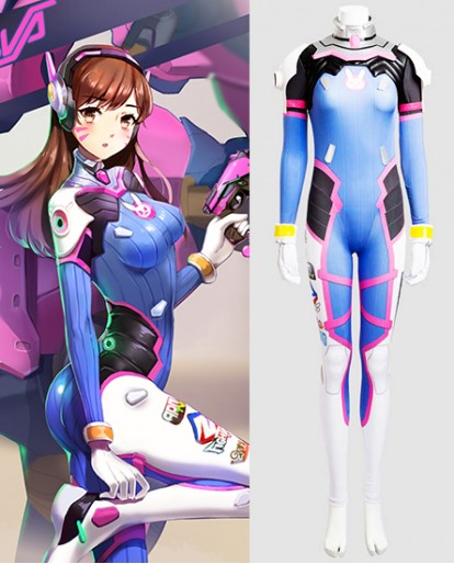 Overwatch D.Va Cosplay Costume