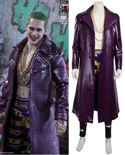 Suicide Squad/Task Force X The Joker Jared Leto Cosplay Costume