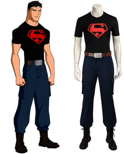 Superboy Young Justice Cosplay Costume