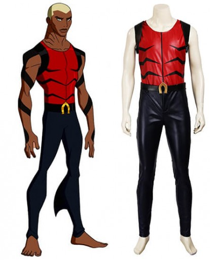 Aqualad Young Justice Cosplay Costume