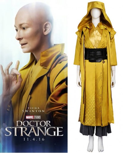 Ancient One Doctor Strange Cosplay Costume