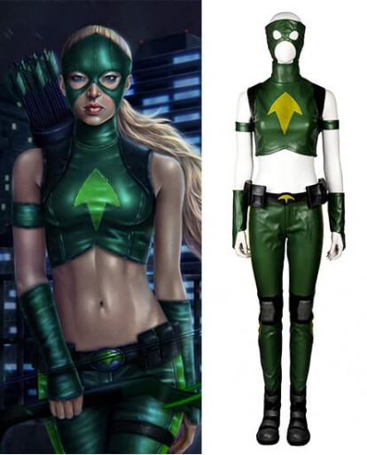 Artems Young Justice Cosplay Costume