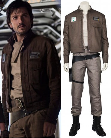 Rogue One:A Star Wars Story Chirrut Imwe Cosplay Costume