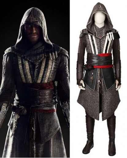 Callum Lynch & Aguilar Assassin's Creed Cosplay Costume