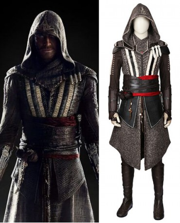 Callum Lynch&Aguilar Assassin's Creed Cosplay Costume