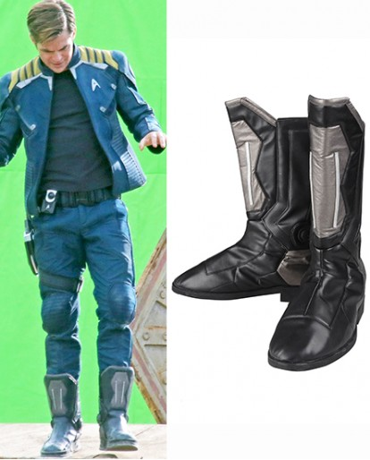 Star Trek Beyond Captain Kirk Shoes Cosplay Boots