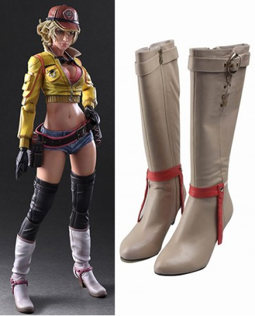 Cidney Aurum Final Fantasy XV Shoes Cosplay Boots